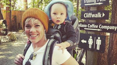 """Pink's rallying cry to fellow """"mamas"""""""