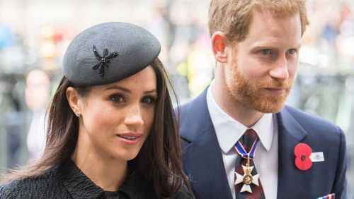 Harry and Meghan will marry on Saturday.