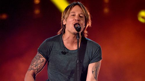 Keith Urban is nominated for three awards.