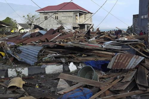 More than 10,000 people in Palu alone are displaced.