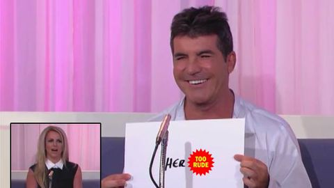 Watch: Simon Cowell picks Britney Spears' best feature, 'her t--s'