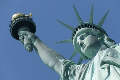 16. Statue of Liberty in Liberty Island, New York