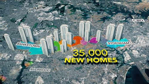 The NSW government has scapped a proposal to erect 30,000 units in Sydney's inner west and south west. Picture: 9NEWS