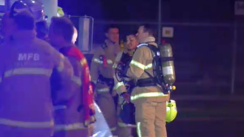 The fire was quickly brought under control, and no-one was injured.