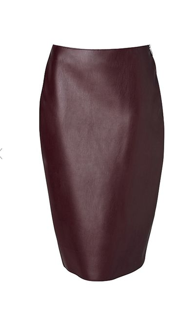 """<strong>#7 A modern-take on the pencil skirt </strong><br /><a href=""""http://www.witchery.com.au/shop/woman/clothing/60180493/Bonded-Pencil-Skirt.html"""" target=""""_blank"""">Skirt, $79.95, Witchery</a>"""