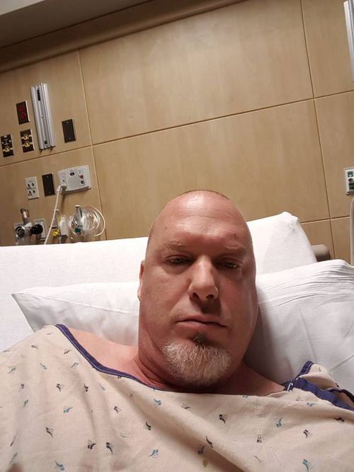 Army veteran Greg Holeman is on the mend.