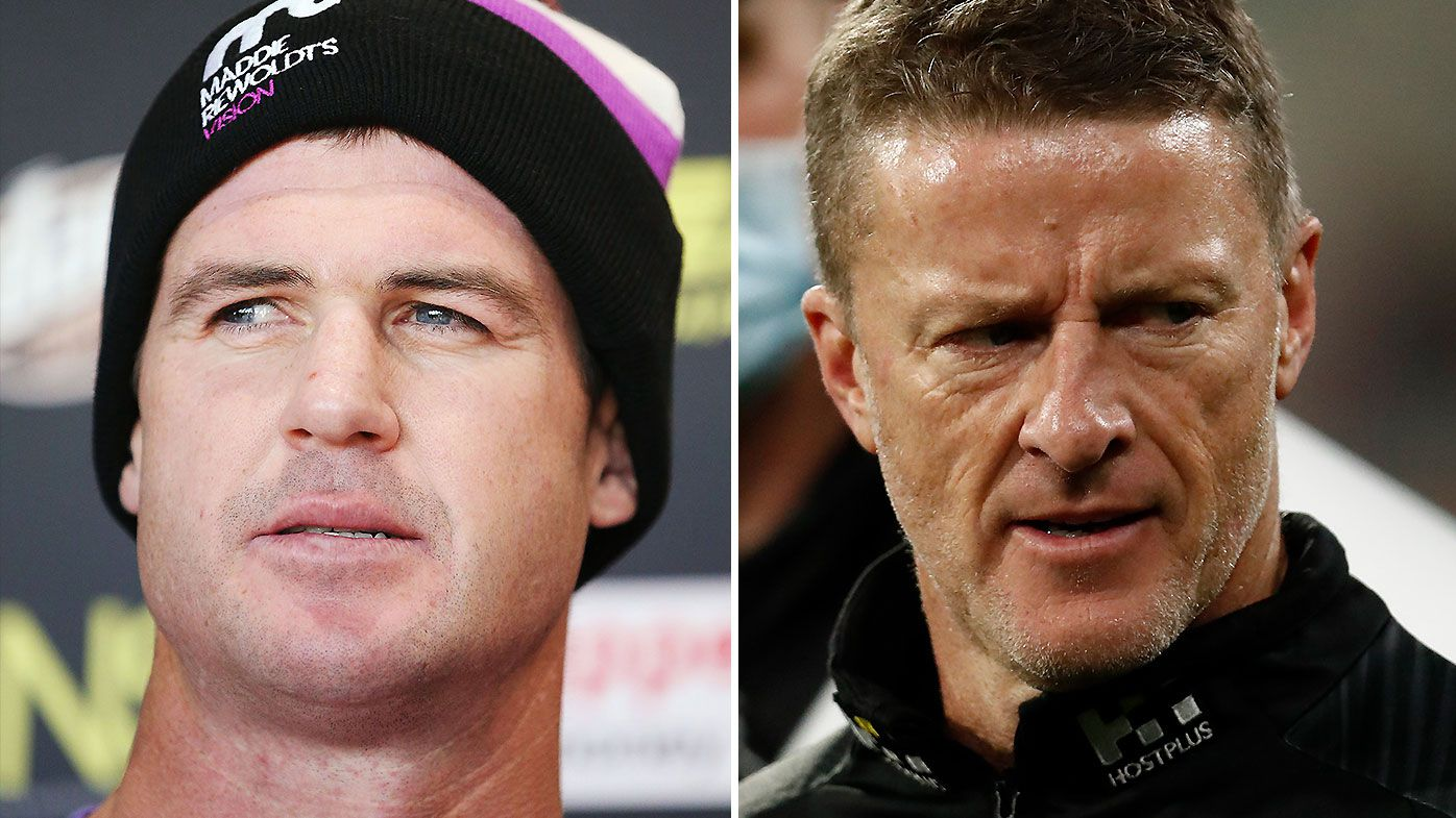 'A pattern emerging': Damien Hardwick criticised for post-match swipe at Jonathan Brown