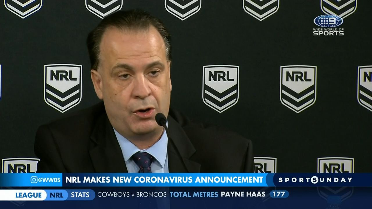 ARLC Commission chairman Peter V'landys arrival was a 'godsend' for NRL, club boss says