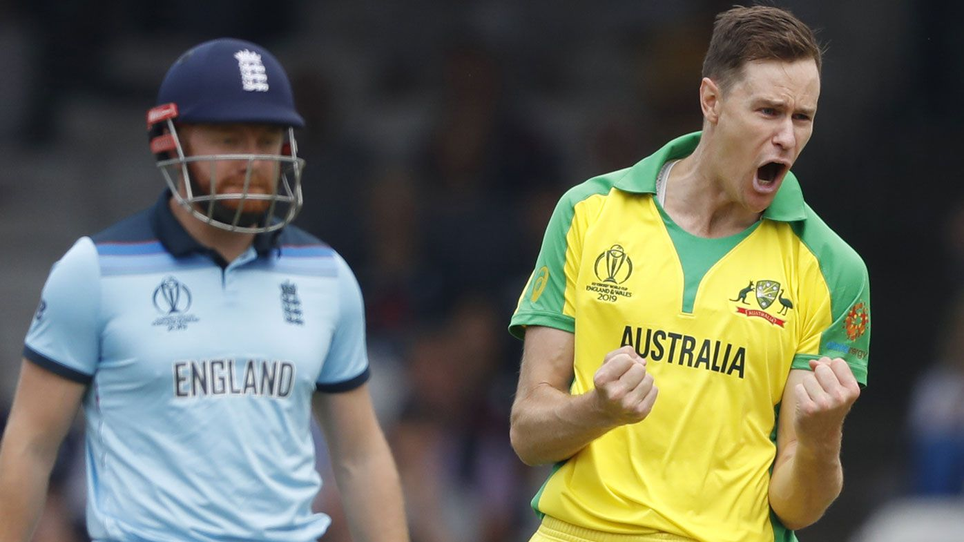 Jason Behrendorff's Lord's debut one to remember with 5-46 World Cup haul