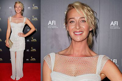 Aussies out-frock the Yanks on the red carpet of the Australian Academy Cinema Television Arts awards in Sydney (that's the new name for the AFI Awards, FYI!)