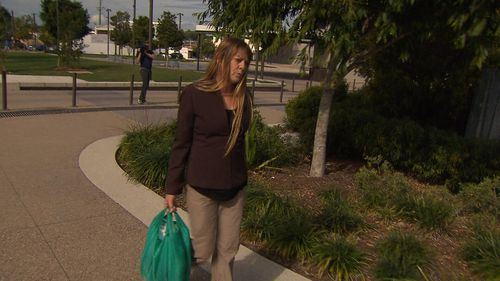 Ms Maguire was today handed a probation order and says she won't ride her horse after drinking again. Picture: 9NEWS