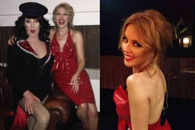 Surprise gig at The Beresford, Sydney (2014)<br/><br/>Images: Kylie Minogue/Instagram