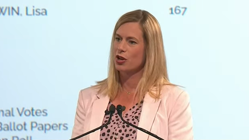 Tasmanian Labor Leader Rebecca White concedes defeat in Tas election