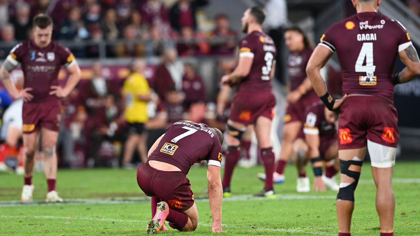 Phil Gould's blunt assessment of Maroons' fall from grace