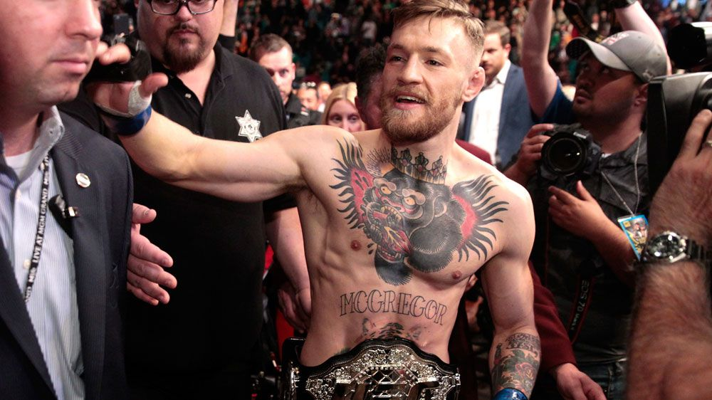 Conor McGregor. (AFP)