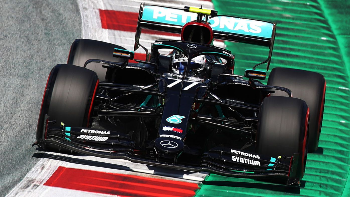 Valtteri Bottas claims pole for Mercedes at F1 season-opening Austrian Grand Prix