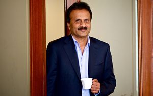 The body of a missing Indian coffee tycoon has been found