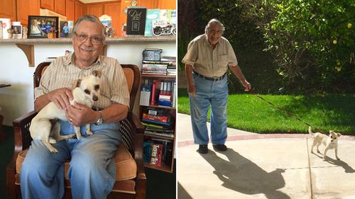 Grandpa and his dog bring social media users to tears