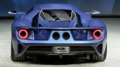 Rumoured for months, the GT has a 600HP twin-turbo V6 engine. (AAP)