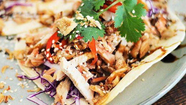 The Finch's soft-shell pork tacos (Facebook)