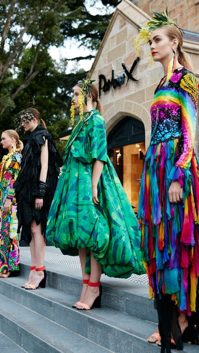 """Last night, Eva Galambos celebrated the new home of her iconic Sydney boutique, <a href=""""http://www.parlourx.com/"""" target=""""_blank"""">Parlour X</a>, with a gathering of Sydney's social scene, including designers, models, press, and actress Sophie Lowe."""