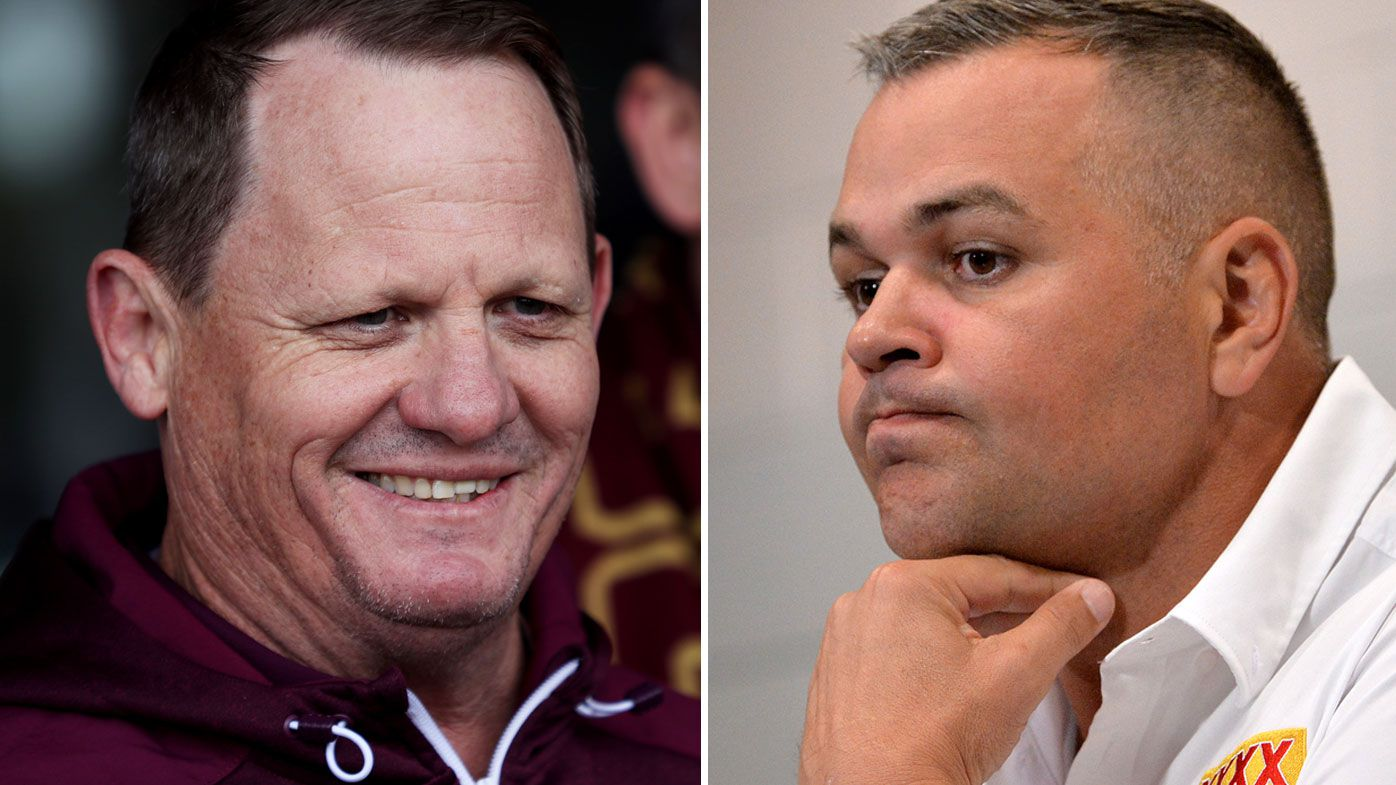 Kevin Walters and Anthony Seibold