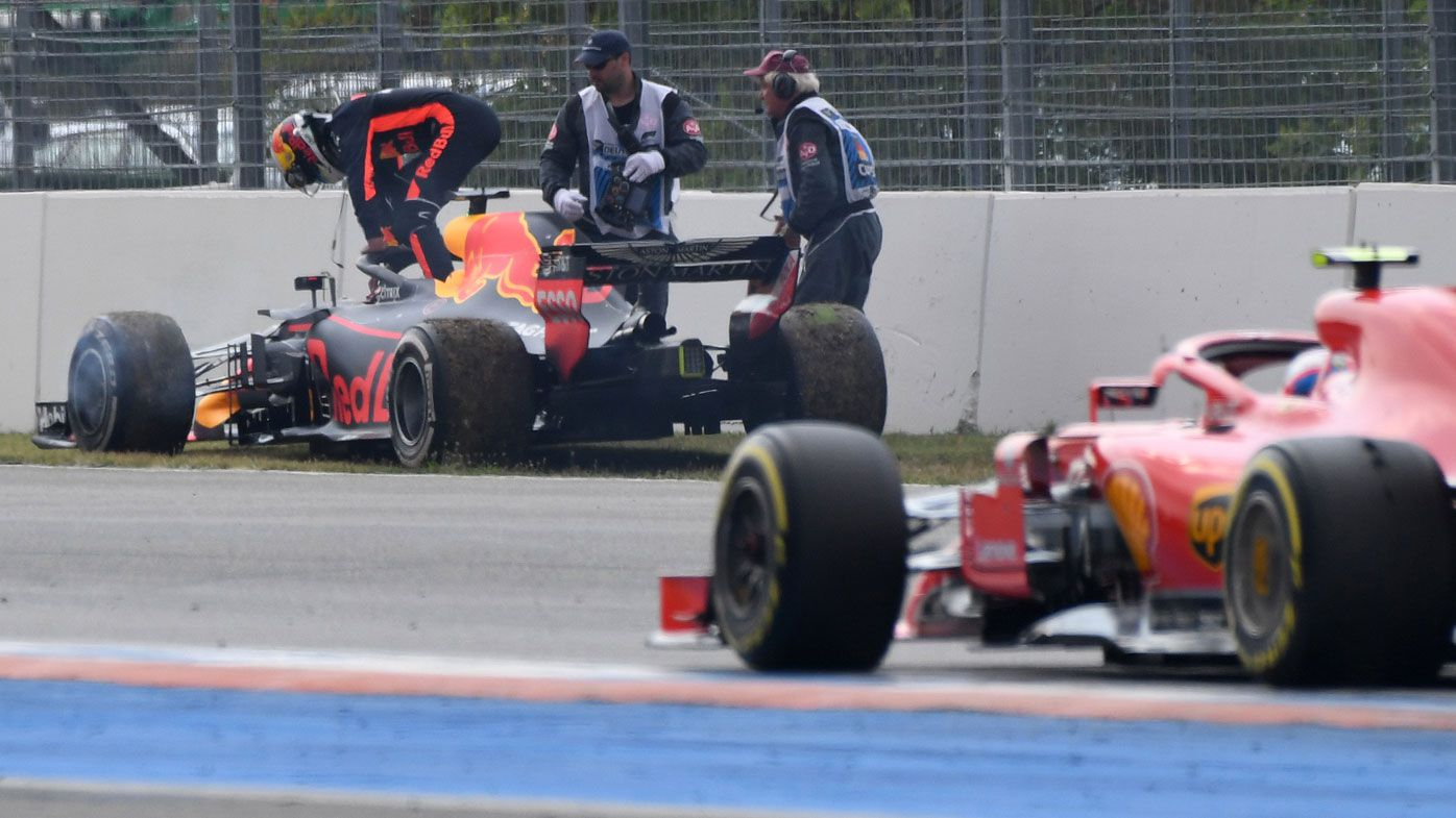 F1: Daniel Ricciardo 'hurt' by Red Bull engine failure at German GP