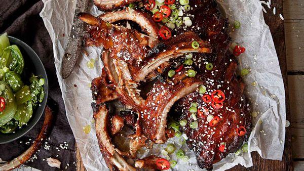 Chinese hoisin ribs