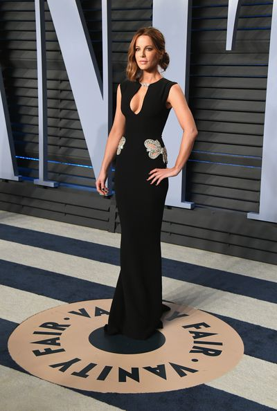ActressKate Beckinsale inReem Acra Resort 2018