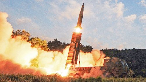 This morning's launch is North Korea's first test in 75 days.