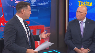 Today host Karl Stefanovic asked Peter Dutton whether he's been offered the role of Defence Minister.