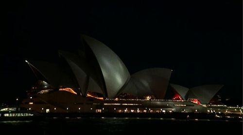 Protesters have targeted the planned projection of The Everest horse race colours and numbers onto the sails of the Sydney Opera House.