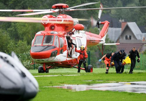 Five dead and 100 hurt by lightning strikes in Tatra Mountains""