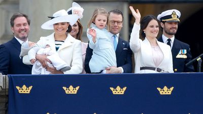 "The children of the Swedish royal family<span style=""white-space: pre;"">	</span>"