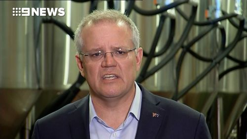 Scott Morrison said state governments do not have a leave pass when it comes to infrastructure projects.