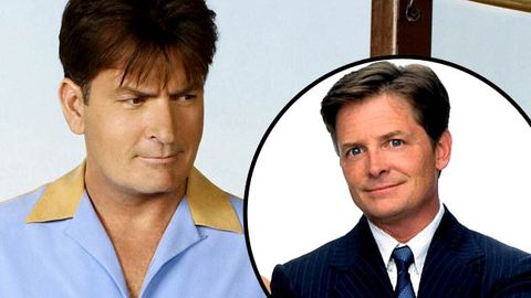 "Fired Charlie Sheen has ""Michael J. Fox"" clause, still wants to be paid for Two and a Half Men"