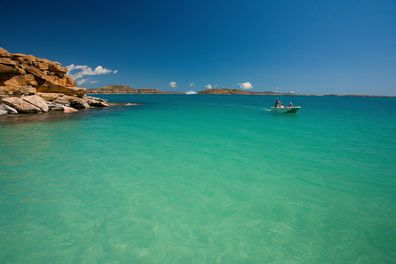 Cossies Beach, Direction Island, Cocos Keeling Islands Western Australia