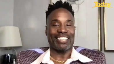 The fabulous Billy Porter surprised Brooke with a personal message.