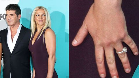 Britney bites her nails so hard they bleed at <i>X Factor</i> US announcement