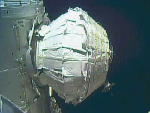 Mission success as NASA inflates spare room onboard ISS