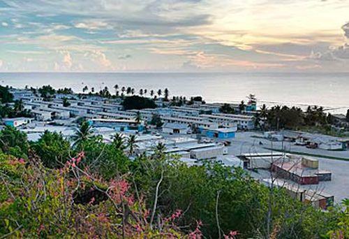 Nauru asylum seeker detention centre. (AAP)