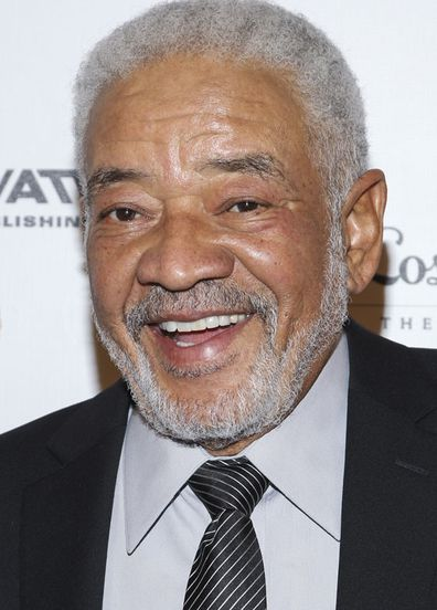 Bill Withers arrives at the Grammy Museum gala tribute concert in Los Angeles.