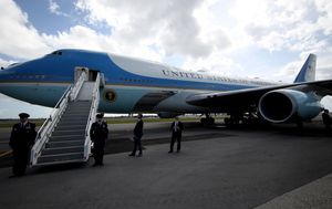 Flight manual for Donald Trump's new Air Force One jet costs $128 million