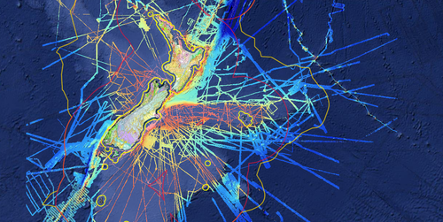 Maps reveal new details about New Zealand's lost underwater continent