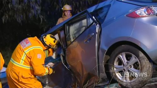 Locals have called for a roundabout for what they believe is a dangerous intersection. (9NEWS)