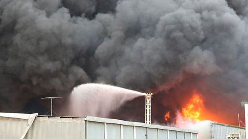 The exact cause of the blaze is yet to be determined, police said.