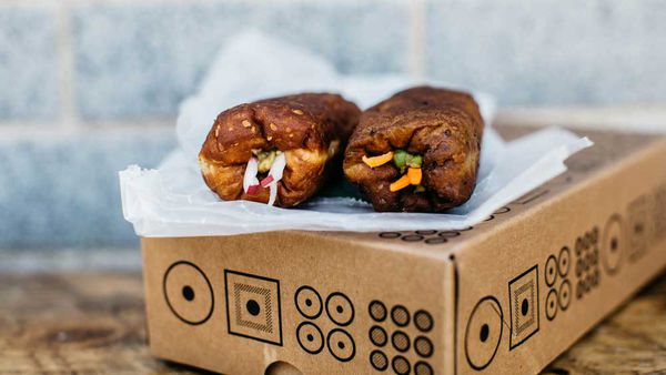 Savoury doughnuts
