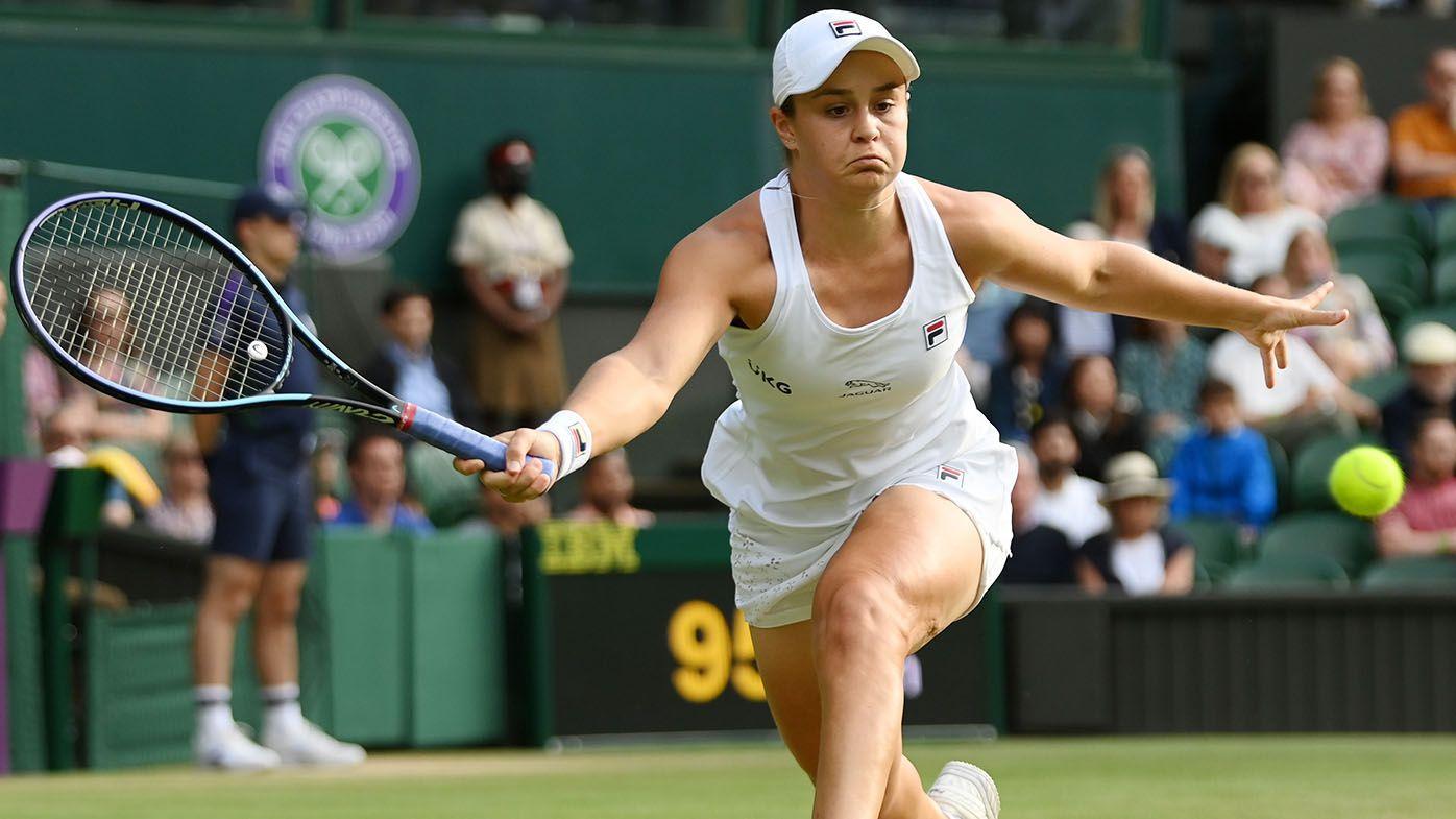 Wimbledon 2021: Ash Barty into final 16 at Wimbledon with classy third-round win