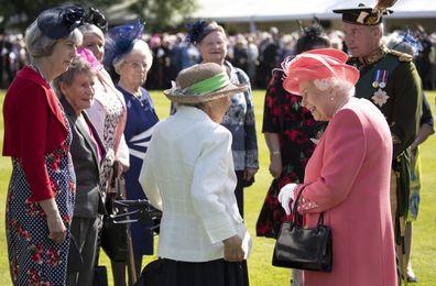Queen Elizabeth Garden Party Scotland