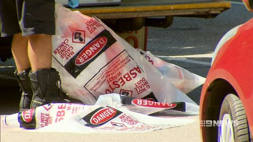 It's believed a white powder was found in the packages.